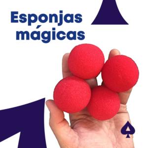Esponjas mágicas – 4 Unidades con Video